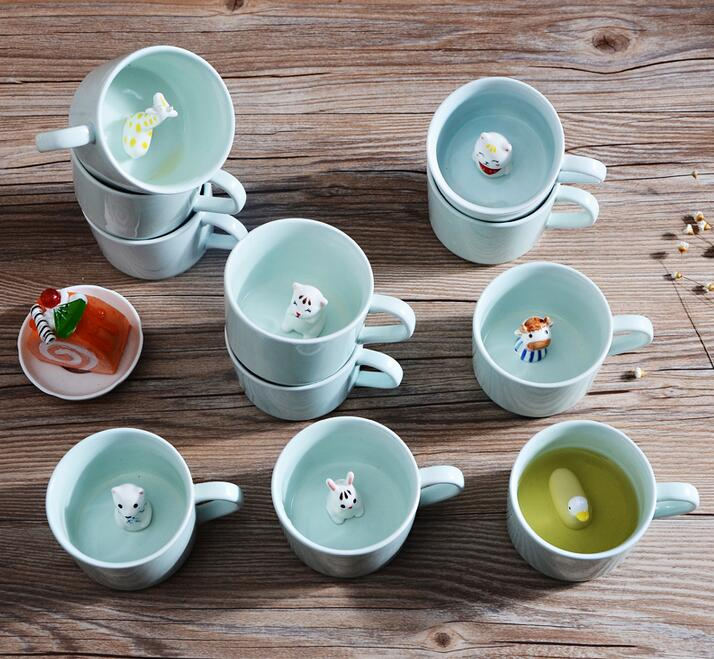 Online buy wholesale animal shaped mugs from china animal for Animal shaped mugs
