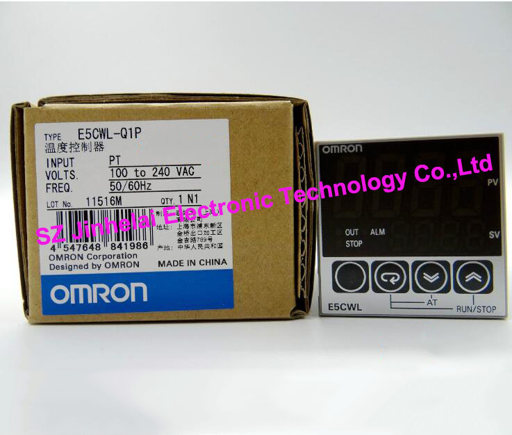 New and original  E5CWL-Q1P  OMRON Temperature controllers  100-240VAC new and original e3x da11 s omron optical fiber amplifier photoelectric switch 12 24vdc