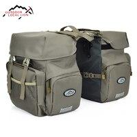 New Bike Bags 50L MTB Mountain Bike Rack Bag Multifunction Road Bicycle Pannier Rear Seat