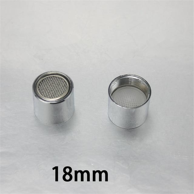 18MM Aerator F18 Faucet Aerator Water Saving Aerator Male Thread Female  Thread Aerator Kitchen Faucet Accessories