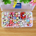 Hot DIY Bracelet jewelry Acrylic bands Beads set Accessories Girl Toys Mixed Kids Beads with Box Beads for Children DIY BDH034