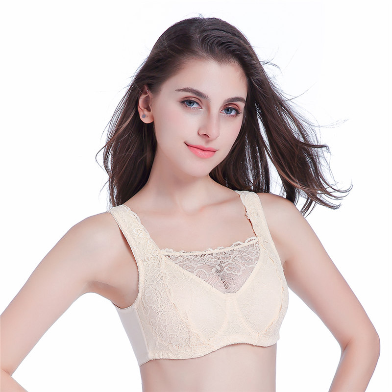 ef8c2a1af New 75 110 Size Bra for Silicone Fake Breasts Artificial False Boobs  Crossdressers Women Favorite Unisex Black Beige Color on Aliexpress.com