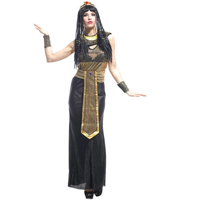 cleopatra egyptian queen fantastic historical adult halloween costume cosplay fancy dress