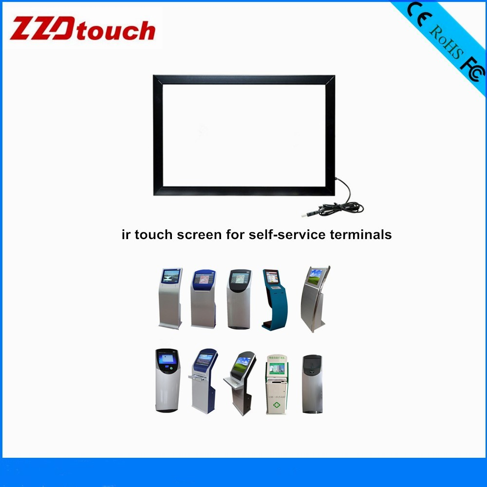 15.6inch ir touch overlay infrared touch sensor for touchscreen monitor pos system led screen panel