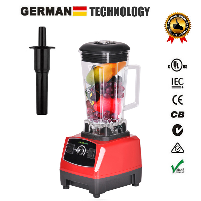 RU ONLY 3HP 2200W BPA Free 2L Top Quality Commercial Grade Blender Mixer Juicer High Power Food Processor Ice Smoothie Bar Fruit máy xay sinh tố của đức