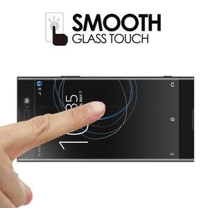 Image 5 - מזג זכוכית עבור Sony Xperia XA1 XA2 XA3 בתוספת אולטרה XZ4 מגן גלאס סרט מסך מגן על G3112 G3412 G3221 h4113 כיסוי