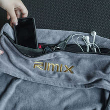 Rimix влагу пот магнит спортивные полотенца с Сумка для хранения