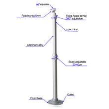 Универсальный потолочный Настенный алюминиевый кронштейн 20-40 см емкостью 15 кг EM88