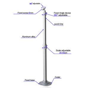 Image 3 - Universale 20 40 centimetri A Soffitto Proiettore Staffa di Montaggio A Parete Girevole In Lega di Alluminio di Proiezione di Montaggio Accessori 15KG Capacità