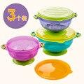 3 pic talheres talheres para crianças das crianças recipiente de alimento pratos pratos prato de comida de bebê infantil alimentação cup tcj30
