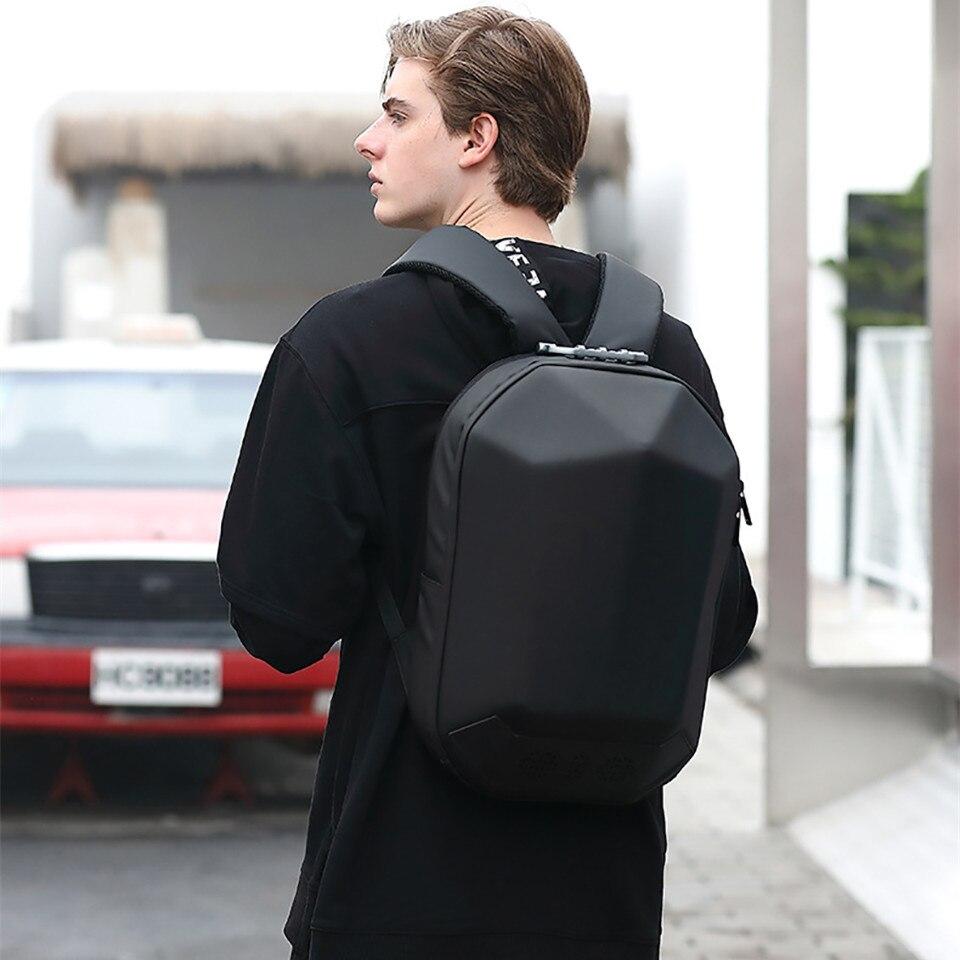 OZUKO Men 15.6 Laptop Backpack Fashion Waterproof Teenager Schoolbag Multifunction Male Travel Mochila USB Charing Backpacks