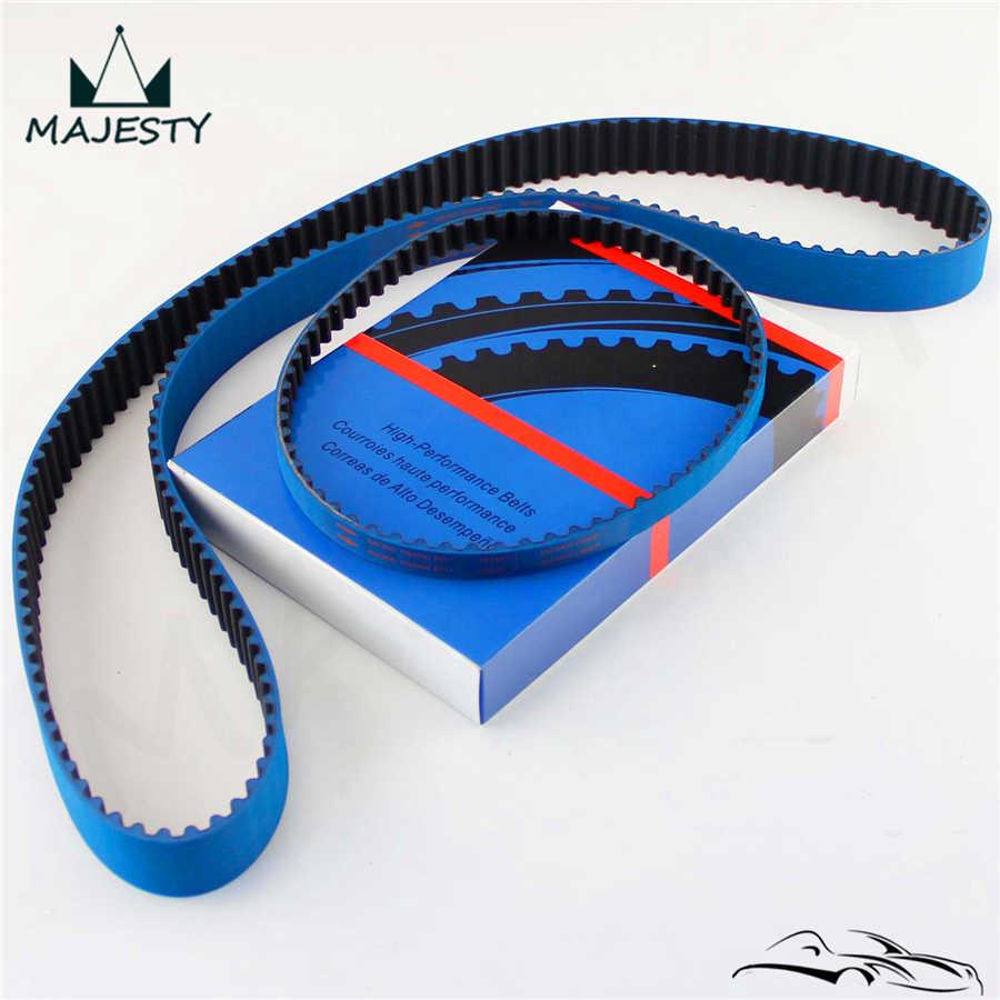 Racing Timing Belt + Balance For Mitsubishi EVO 1-9 Eclipse DSM 4G63 92-06  Blue