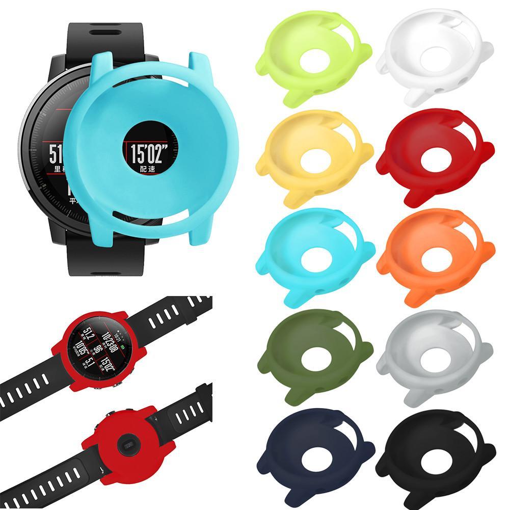 10 Kleur Slanke Pc Case Cover Horloge Beschermende Shell Voor Huami Amazfit Stratos Smart Horloge 2/2 S Smart Accessoires Om Te Genieten Van Een Hoge Reputatie Op De Internationale Markt