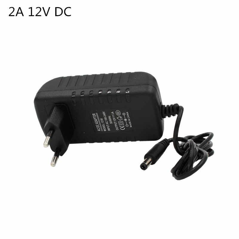 Câble séparateur de bande de LED connecteur 4 broches 24 44 contrôleur de clé 2A adaptateur d'alimentation 12 v DC RGB lumière LED avec câble 1 à 2 1 à 4
