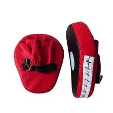 1 шт., боксерская перчатка, тренировочная мишень, ударная накладка, перчатка для карате, муай Кик, комплект, спортивный фитнес-боксерский коврик, перчатка, красная