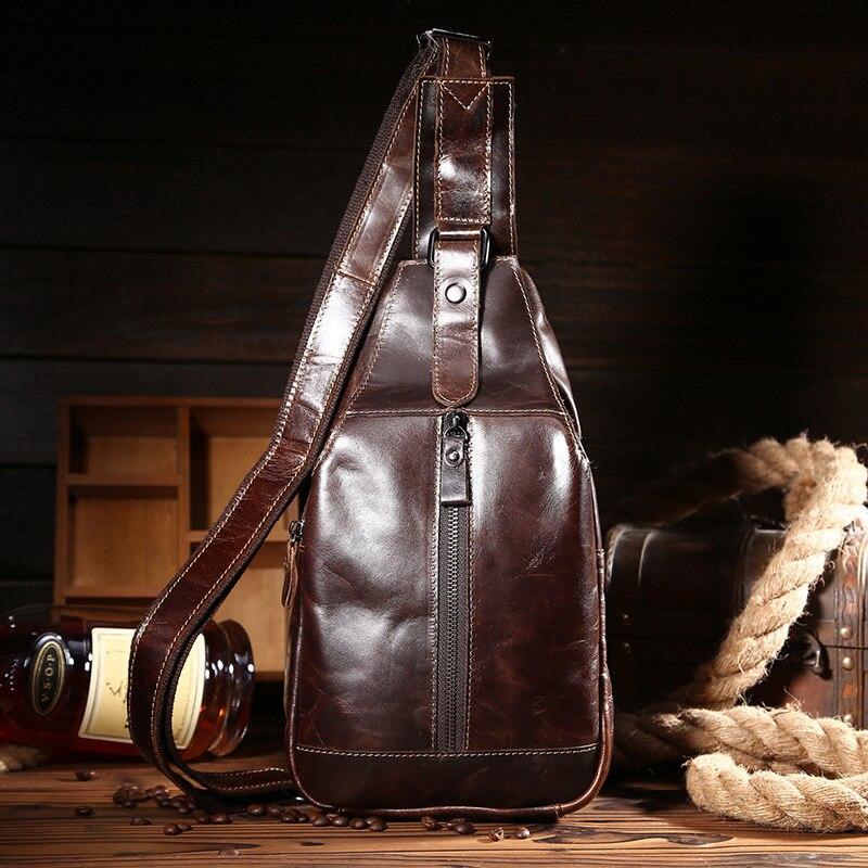 ФОТО Men Messenger Shoulder Chest Bags Casual Travel Luxury Alligator Genuine Leather Crossbody Bags Back Pack Dollar Price 2016