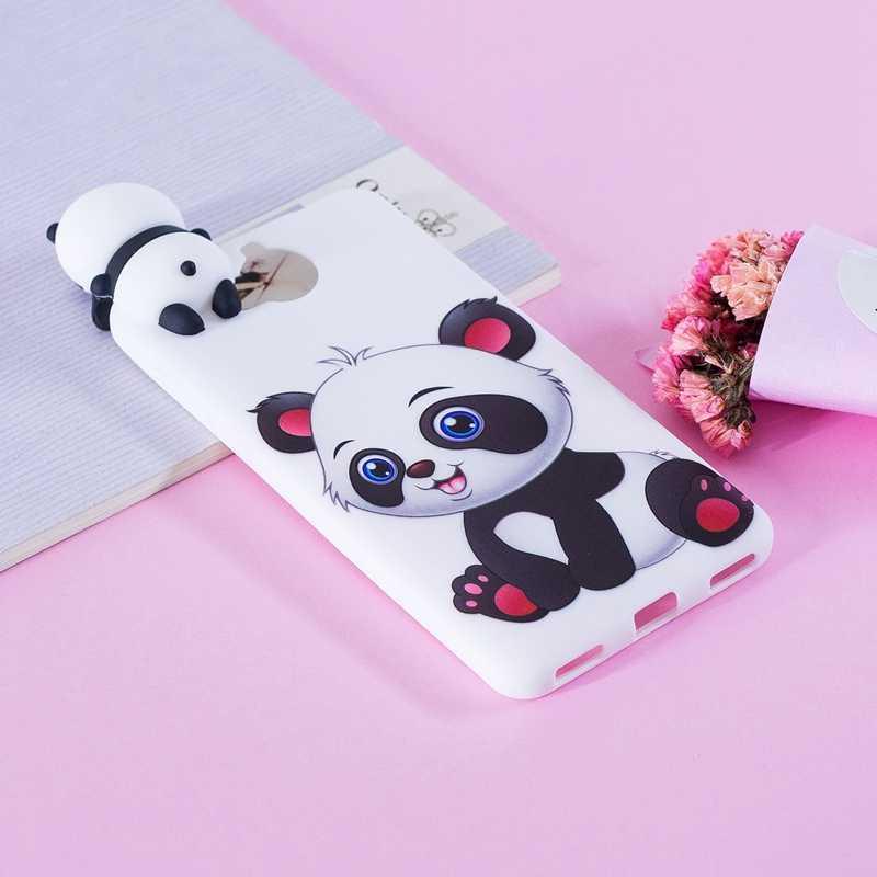 СПС Coque Huawei Y5 2017 чехол 3D с рисунком кота из мультфильма «панда» силиконовый мягкий чехол-накладка из ТПУ задняя крышка чехол для Huawei Y5 2017/Y6 2017 Huwawei чехол