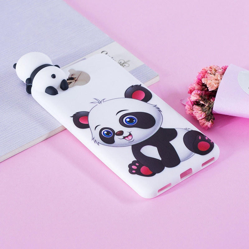 Sfor Coque Huawei Y5 2017 Case 3d Cartoon Cat Panda Soft Silicon Tpu Back Cover Etui For Huawei Y5 2017 Y6 2017 Huwawei Case Fitted Cases Aliexpress