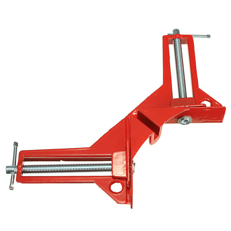 MTGATHER 1Pieces 3 Inch 90 Degree Right Angle Corner Clamp Miter Vise Vice Picture Frame Holder Woodworking Light Hot Sale Струбцина