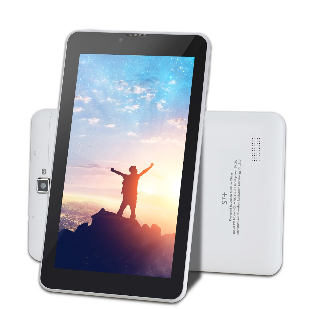 Christmas 7 Inch 3G SIM CARD Phone Call Tablet pcs Quad Core Android 7.0 Tablets 16GB PAD Dual Camera GPS WIFI Bluetooth IPS koslam 10 inch 3g android tablet pc 10 ips screen dual sim card phone call phablet quad core 1g ram 16gb rom wifi gps playstore