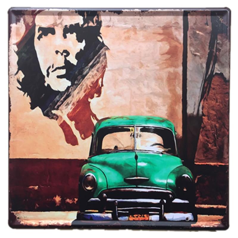 Metal Tin Sign che guevara Decor Pub Bar Home Vintage Retro Poster Cafe ART