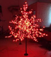 Miễn phí Vận Chuyển 1.5 Mét cao 636 leds nhân tạo ngoài trời cây giáng sinh led maple lá sáng AC110V/AC220V/AC230V/240 V
