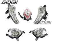 Clear LED Front & Rear Turn Signals Indicator Light With Rear Brake Tail Lamp For Yamaha T MAX 530 Tmax 530 2012 2015 13 14