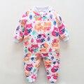 Ropa de marca Baby Boy Mameluco Del Bebé Recién Nacido Body Chica Ropa de Dormir Pijamas Animal Mono Polar Infantil Bebes Bebé De Invierno General