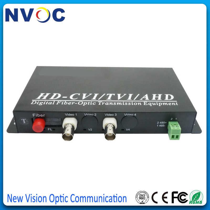 2Ch HD 1080P AHD/CVI/TVI в волоконно-оптический видео конвертер + 1ChReverse RS485 данных, SM, SX, 20 км, FC, евро зарядка, 2Ch HD видео конвертер