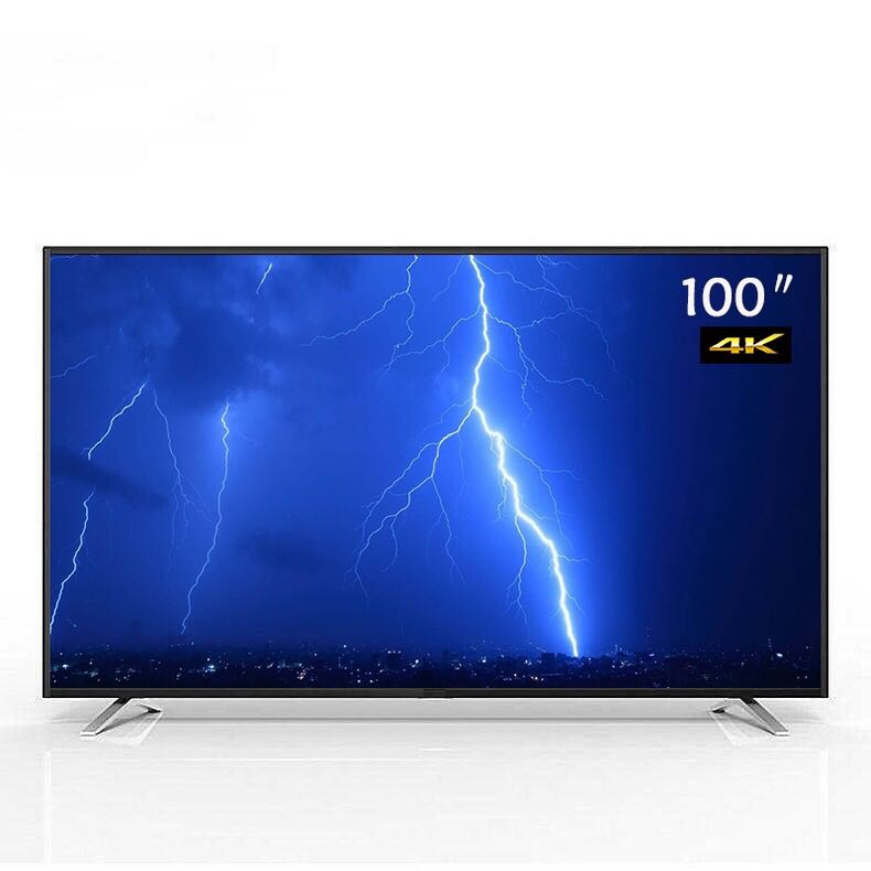 85 90 95 100 110 inch Explosion-proof commercial LCD TV HD 4K LED television TV