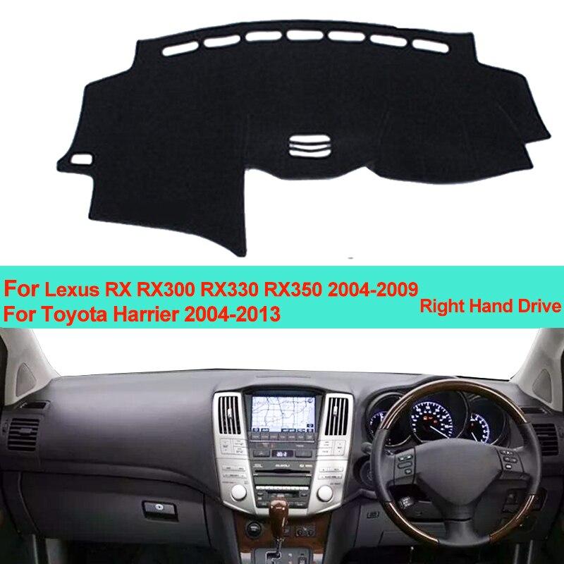 Car Inner Dashboard Cover Dash Mat Carpet Sun Shade For Lexus RX RX300 RX330  RX350 2004 2007 2008
