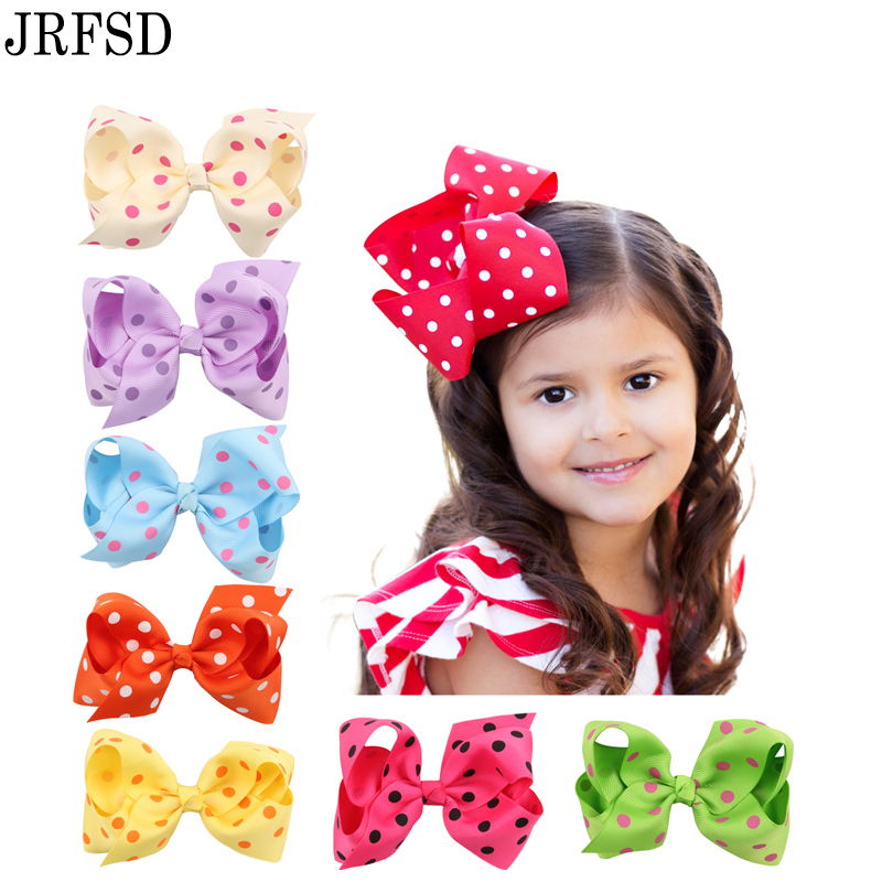 Holiday travel party gifts hair clip16different models of color printing dot hairpin Fashion Style  Hair Accessories ti-03