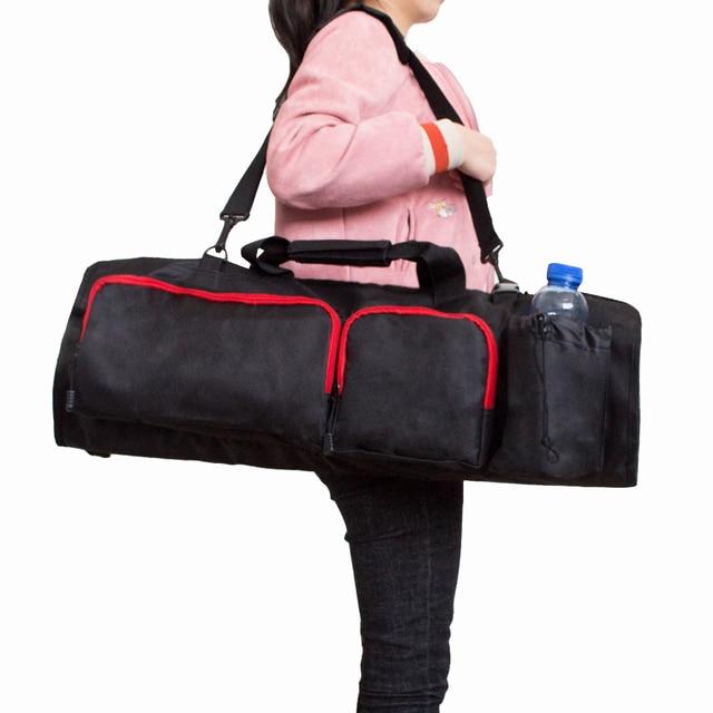 Mdstop Adjule Shoulder Strap Yoga Bag With Open Ends Sports Gym Bags Water Bottle Holder And