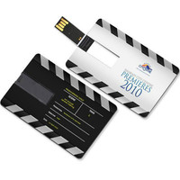 100 Pic/Lot 8GB16GB credit card USB Flash Drive customized Pen drive pendrive personalized as football team logo design pendrive