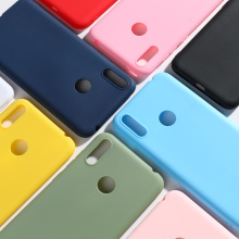 Huawei Y7 2019 DUB-LX1 DUB-LX3 Case For Prime Soft Silicone Candy Phone Cover Pro 2019/Y7