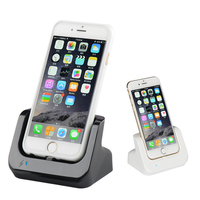 Sync Gegevens USB Charger Dock Stand Station Cradle Opladen Dock Station Voor iphone SE 5 5 S 5C 6 6 S Plus 7 8 met USB kabel