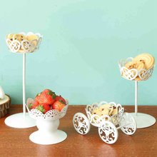 Vintage Metal Wedding Cupcake Stand Cake Dessert Iron Holder Display Party Decor HG4833-HG4836