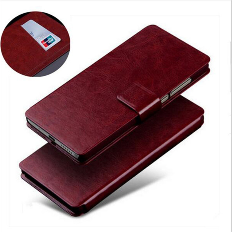 Haute Qualité Bussiness Vintage Carte-Fente Ultra Mince Cas Pour LG Magna C90 H520N H502F H500F G4C G4MINI G4 Mini Flip Téléphone cas