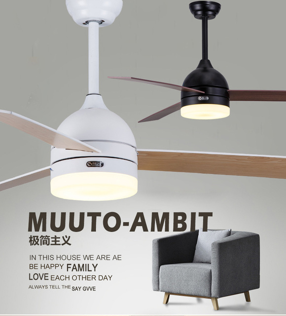 New black and white leaf fan lights 48 inch dining room ceiling new black and white leaf fan lights 48 inch dining room ceiling fan lamp remote control aloadofball Image collections