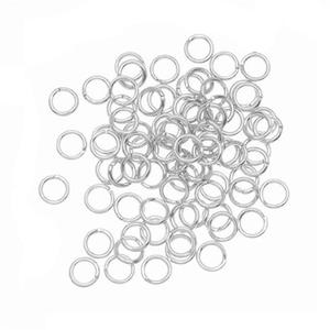 Fast delivery 2018 new 100PCS 4mm Open Jump Rings 21-Gauge DIY Jewelry Z0409 drop shipping