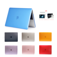 Crystal\Matte Case For Apple Macbook Air Pro Retina 11 12 13 15 inch laptop bag,For  New pro A1932+Gift