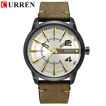 CURREN Men's Luxury Military Male Quartz Watches 1