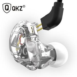 Image 2 - New QKZ VK1 4DD In Ear Earphone HIFI DJ Monito Running Sport Earphones Earplug Headset Earbud ZS10 ZS6 fone de ouvido audifonos