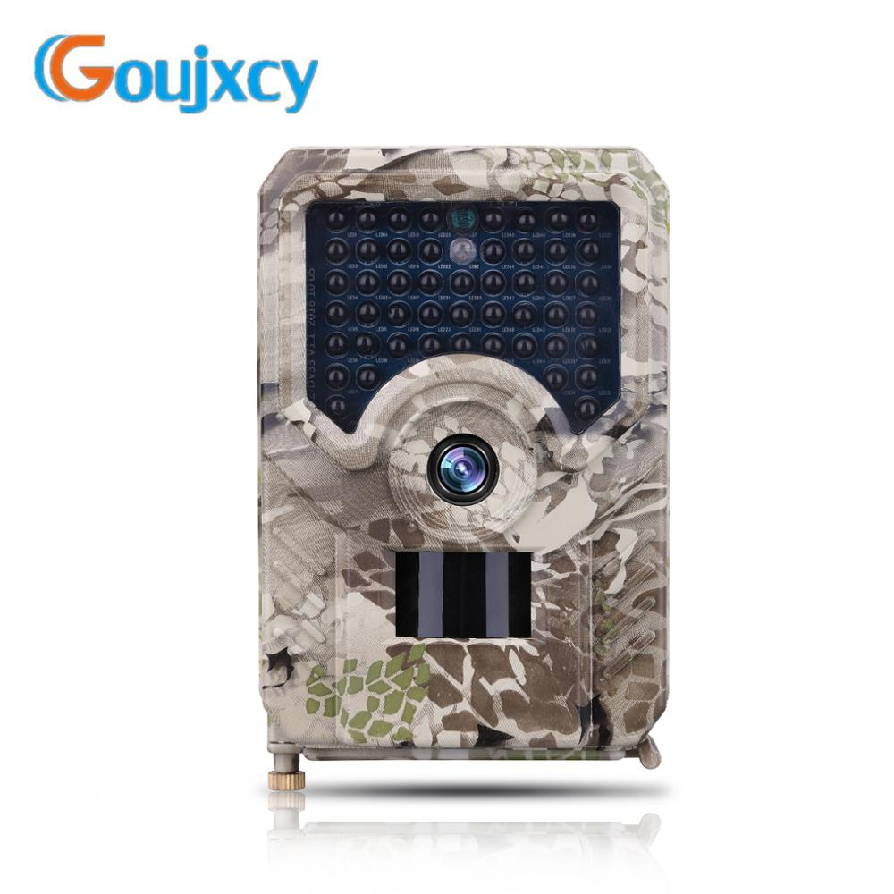 Goujxcy <font><b>PR</b></font>-<font><b>200</b></font> Trail camera Waterproof Ip56 wildlife camera 950nm infared night scout Hunting camera photo traps camera chasse image
