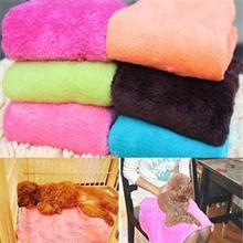 Soft Warm Pet Dog Fleece Mat Thermal Blanket Pet Dog Cat Quilt Coral Soft Air Conditioning Blanket Pet Products Puppy Dog Mats