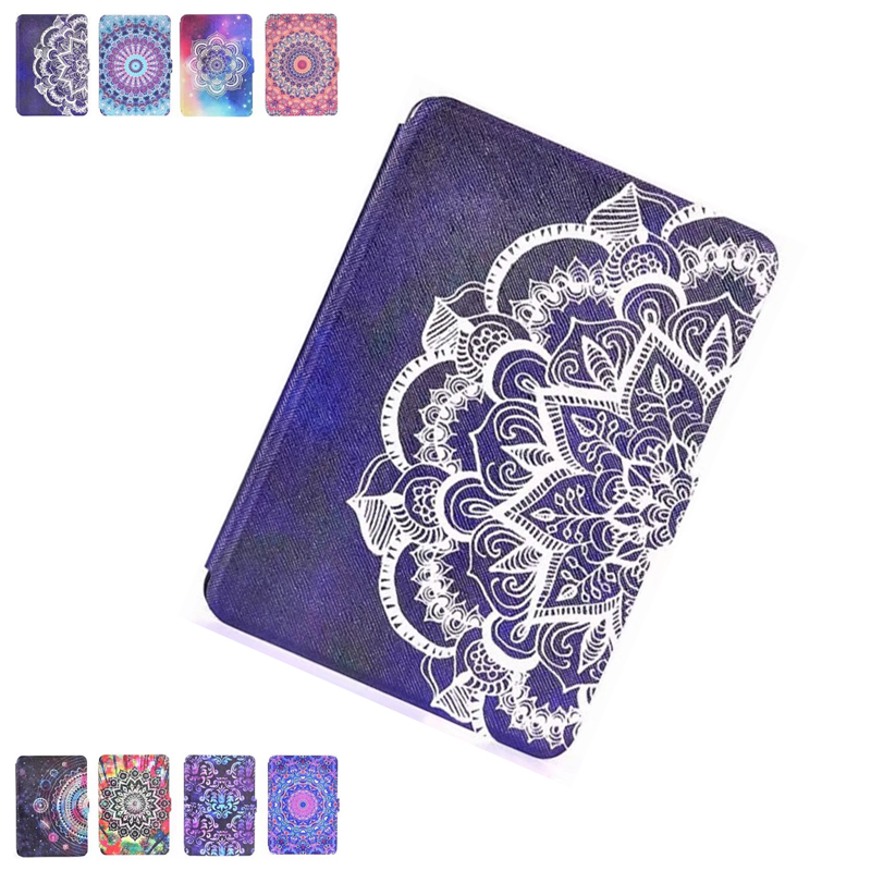 Ultra Slim Case for amazon kindle paperwhite 1 2 3 case Smart PU Leather Sleeve Fashion Painting Tablet 6 inch Cover Auto Sleep new 3u ultra short computer case 380mm large panel big power supply ultra short 3u computer case server computer case