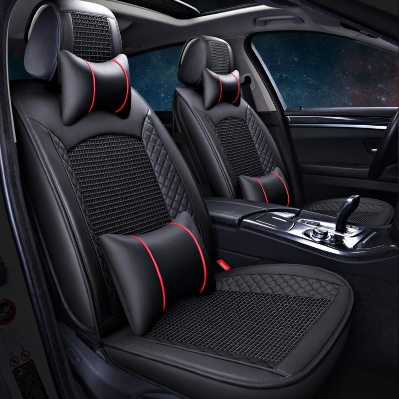 2019 Latest Design Best Quality & Free Shipping! Full Set Car Seat Covers For Cadillac Srx 2015-2009 Comfortable Fashion Seat Covers For Srx 2012
