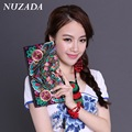 Brands NUZADA Women Ladies Bag  Wristlets Wallets clutch bags Card Holders  Coin Purse Money Bag Card Pack embroidery xqb-002