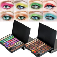 High Quality 54 Colors Eye Shadow Cosmetic Powder Eyeshadow Palette Makeup Natural Shimmer Matt Professional Beauty Set Tools Health & Beauty