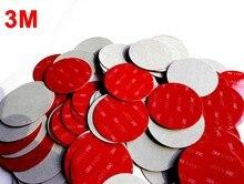 1000 pièces/lot 58mm rond 3M VHB 5608 Double face adhésif acrylique mousse ruban de montage gris diamètre 58mm disque cercle